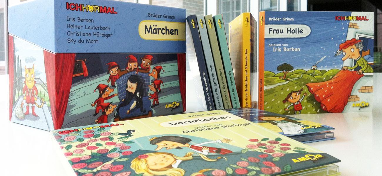 Artwork IchHörMal Märchen Editionsbox mit acht Digipaks