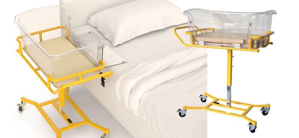 Krankenhaus Babybett – Babynel-Bed Co-Sleeping für Mutter und Kind mit Klappe