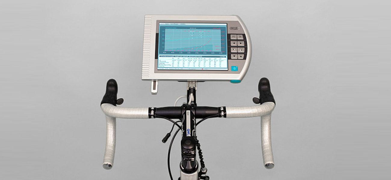 Draufsicht auf Cyclus 2 mit User Interface
