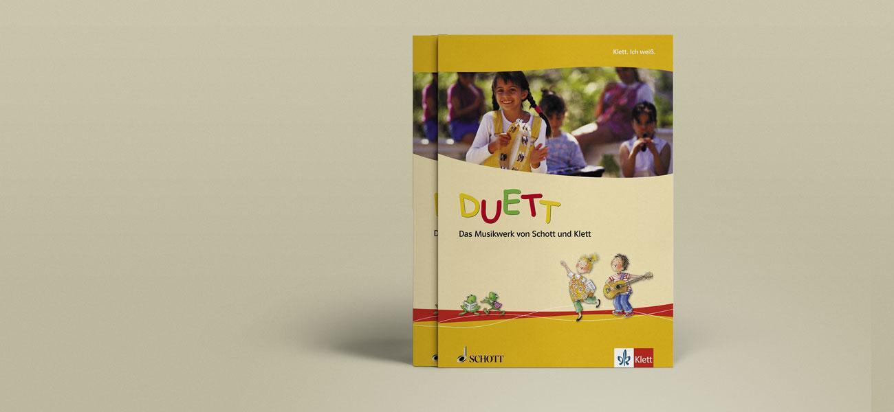 Produktbroschüre DUETT vom Klett Verlag
