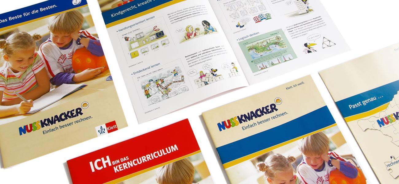 Produktbroschüre Nussknacker vom Klett Verlag