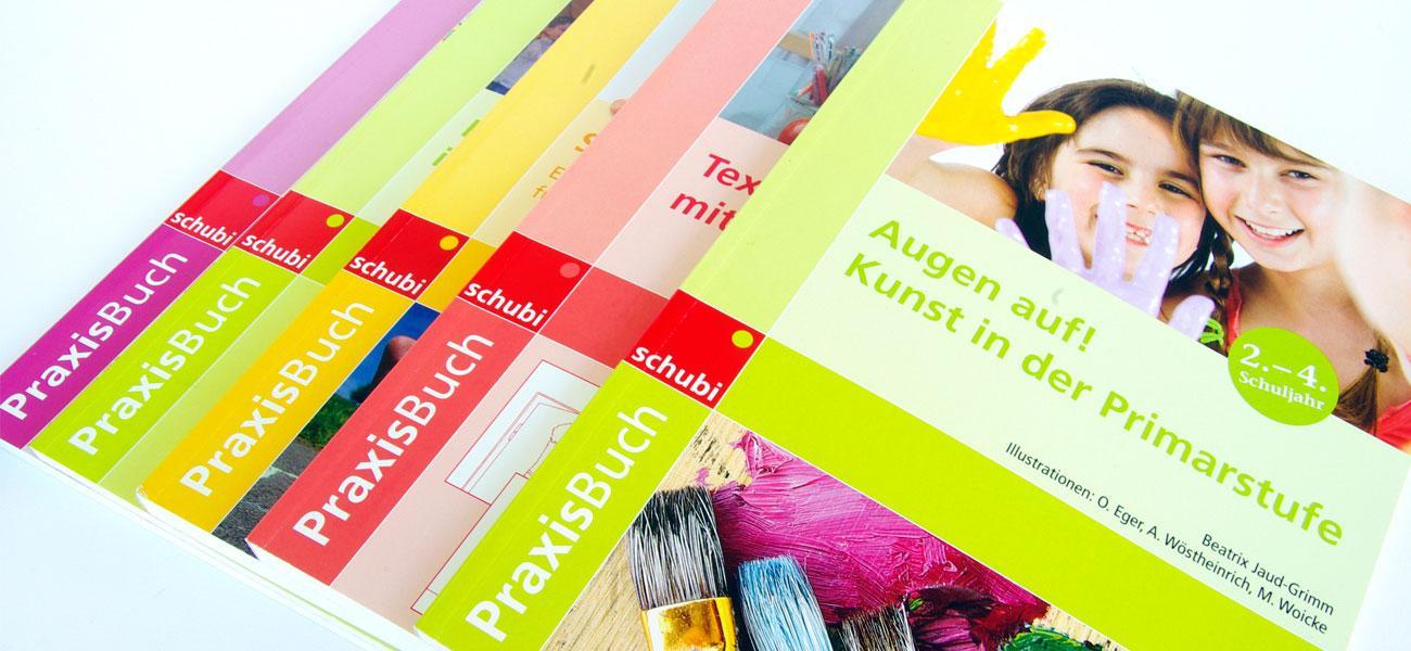 PraxisBuch Corporate Design für Lehrwerksreihe