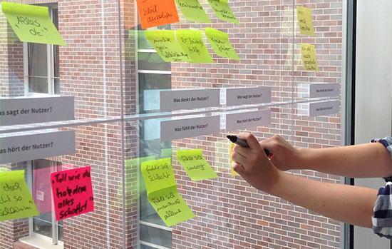 Design Thinking Workshop bei SCHRÖDER DESIGN
