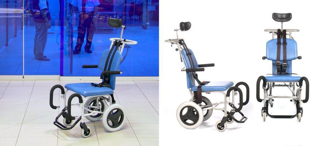 Industriedesign Rollstuhl für Flughäfen