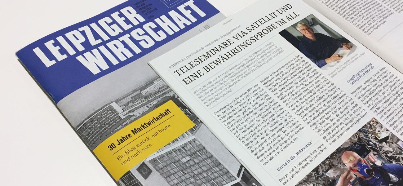 30 Jahre Marktwirtschaft, Magazin der IHK zu Leipzig