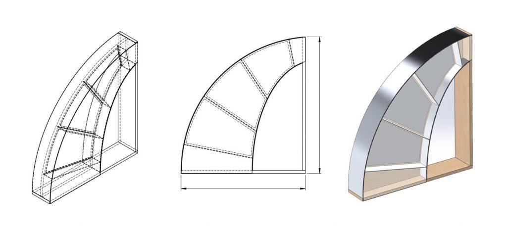 Designthinking innoTree Produktentwicklung Entwurf 3D Rendering