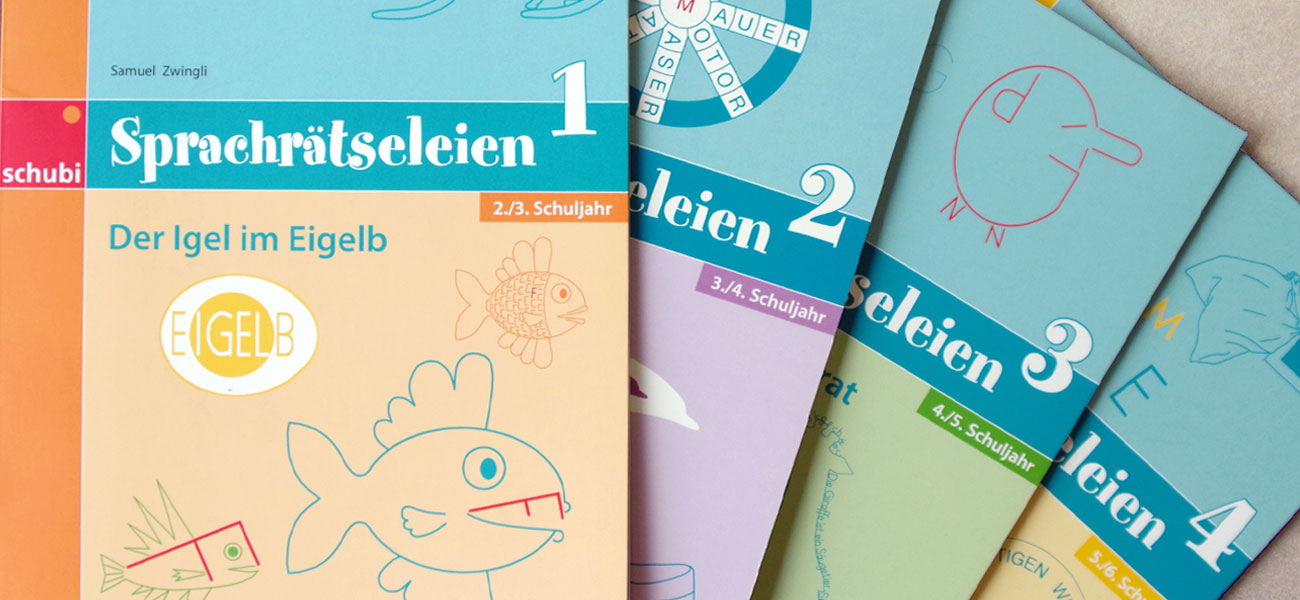 Cover-Reihe Sprachrätseleien